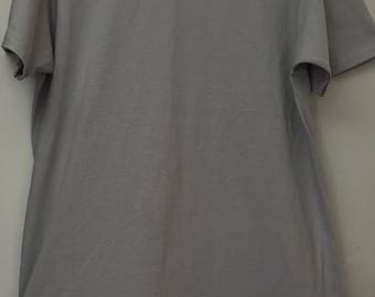 Mens Light Gray Shirt with Fringes
