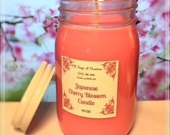 Japanese Cherry Blossom 16oz Candle
