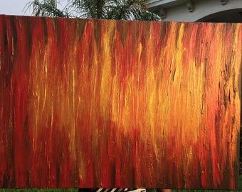 Abstract art, canvas art, textured art