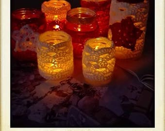 Tea light cosies