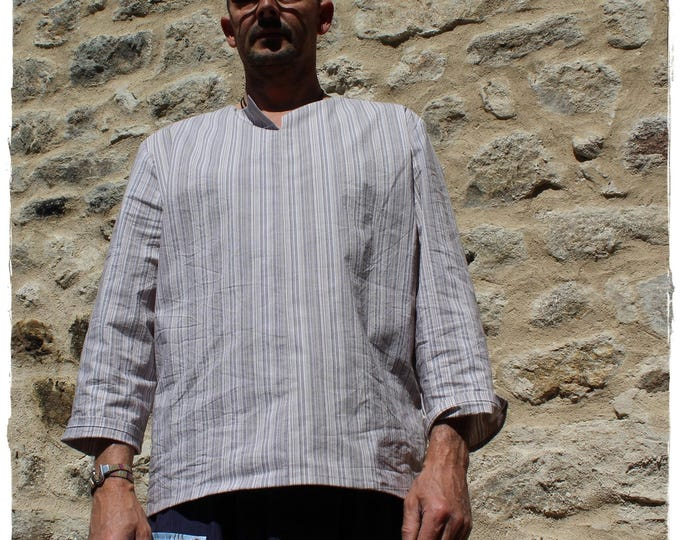 Men's shirt / tunic original, light and comfortable
