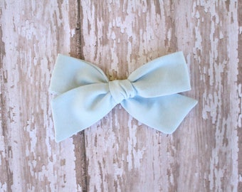 Blue Mila Bow
