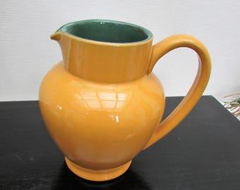Denby 'Classic' ware Mustard Yellow  Milk Jug - 1 Pint