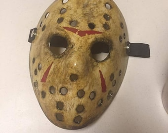 Jason Voorhees Friday the 13th (2009) Remake Custom Mask from 2009 Replica