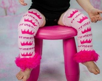Baby Girl Leg Warmers Princess Pink Hot Pink Leggings Baby Girl Clothes