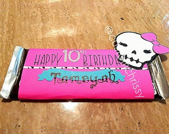 Monster High Candy Wrapper