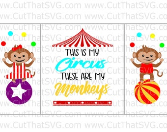 This is my Circus These are my monkeys / That is my Monkey