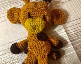 Crocket giraffe toy for children