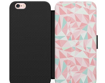 Shell case Iphone 4, 5, 6, 7 geometric 006 black edges