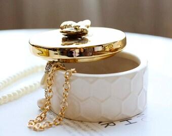 HoneyBee Jewelry Container Box