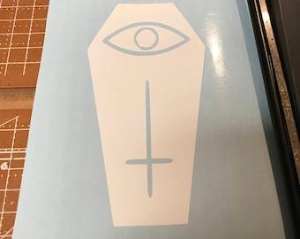 Illuminati coffin