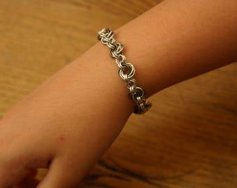 Handmade Spiral Mobius Bracelet