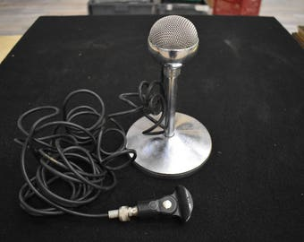 Vintage Electro-Voice Spherex 920 Microphone with EV 423a Stand Made in USA