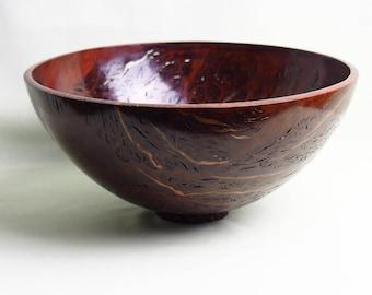 Wooden bowls/ Jarrah burl/ Woodturning