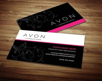 Avon Business Card Design 5
