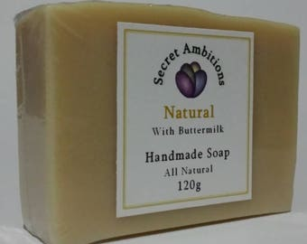 All natural soap with Buttermilk