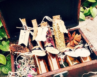 Herb Box - A Witch's Basic Essentials for Magick + Ritual