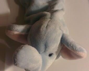 Beanie Baby Peanut Elephant TY stuffed Animal