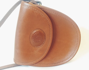 Vintage Leather Crossbody