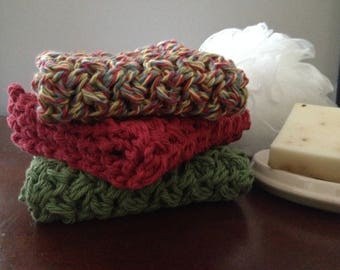 Handmade Cotton Spa Washcloth