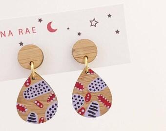 Maude Dangle Earrings