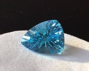 Swiss Blue topaz brilliant – 5.8 ct