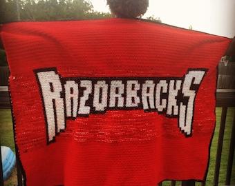 Razorback Blanket