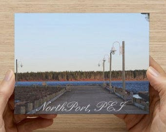 NorthPort PEI, Postcard