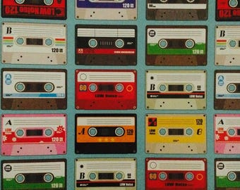 Retro Tapes/ Cassettes Gift Wrapping Paper