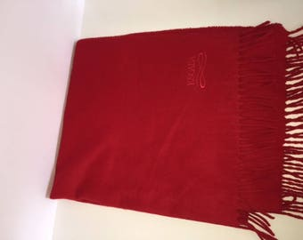 Vintage Red Escada Scarf/Shawl