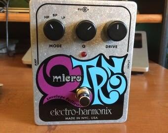 Electro-Harmonix Micro Q Tron envelope filter guitar pedal