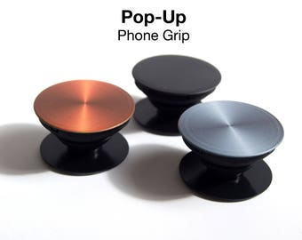 Pop-up Phone Grip in Iphone colours | selfie handgrip stand |