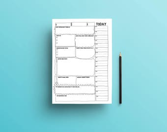 Day Planner To Do List Printable