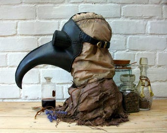 "Plague Doctor mask ""Vincent"""
