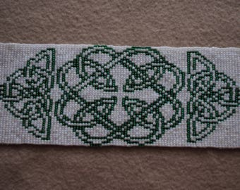 Celtic Knotwork Loom Beaded Embellishment