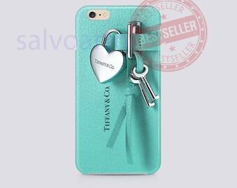 Tiffany Luxury Key Lock iPhone 6,7,Samsung S6,S7,S8