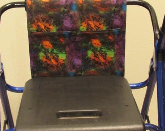 Walker Tote purple oil slick print #677