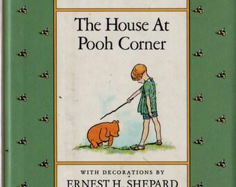 The House at Pooh Corner - A. A. Milne - Ernest H. Shepard - 1988 - Vintage Kids Book