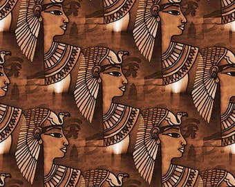 Ancient egyptian inspired satin wrapping  paper