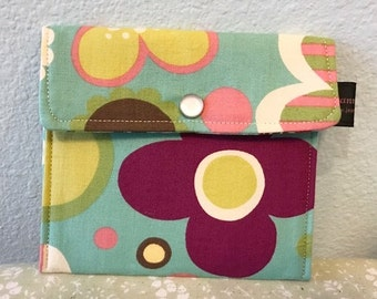 Wallet Business Card holder | Avant Garden Sky | Change Purse