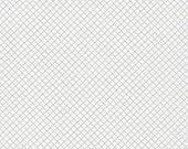Thanksgiving Sale 10% Off Robert Kaufman Remix Diamond Lattice Silver Metallic Quilting Apparel Fabric BTY