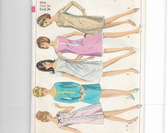 Simplicity Misses' One-Piece Dress Pattern 6535