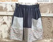 40% OFF- Flea Market Skirt- Eco Friendly Reclaimed Fabrics-Womens-L-XL