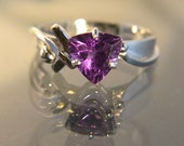 Bian Ge - Amethyst ring reserved for Eileen