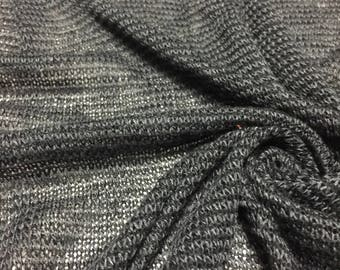 Open Weave Sweater Knit Fabric 1-1/2  Yards
