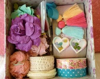 Art Kit In A Decorative Box