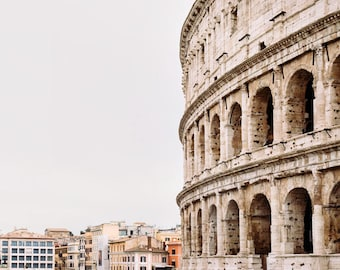 "Colosseum Photograph, Rome Wall Decor, Rome Italy Print, Large Wall Art Print, Fine Art Photography, Wall Decor ""Ancient History"""