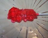 20 Firetruck Lollipops