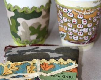 Coffee Cup Sleeve, Coffee Cozy, Reusable Coffee Sleeve