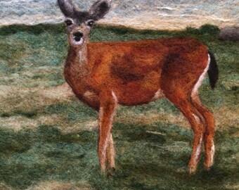 No.791 Doe a Deer - Needlefelt Art XL